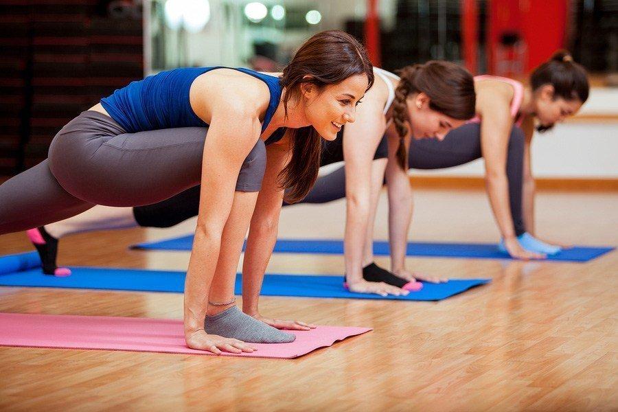 Un esercizio di Fit Yoga